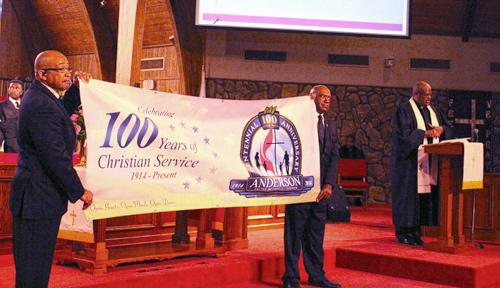 Anderson United Methodist Celebrating 100 Years